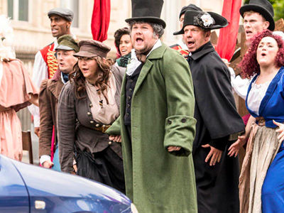 James Corden Brings Crosswalk the Musical to Paris -- and the Results Are HILARIOUS!