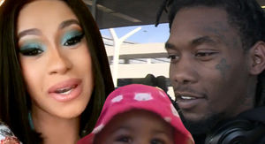 Cardi B and Offset Drop $100,000 on Birthday Bling For Baby Kulture
