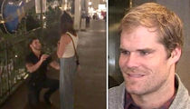 Greg Olsen Hilariously Records Random Couple's Proposal, Did She Say Yes?!