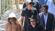 The Obamas Hang Out with U2 in France as Dream Vacation Continues