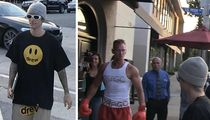 Justin Bieber Confronted By Fake Ivan Drago, Fight Me!