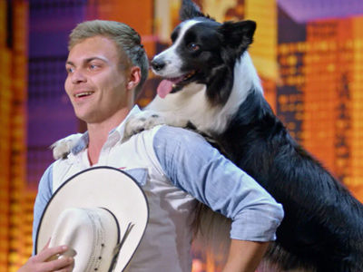 This 'America's Got Talent' Rodeo Pup Is JUST What You Need to See Today