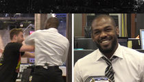 Jon Jones Teaches TMZ Staff How to Throw Ferocious Elbows, Awesome Video