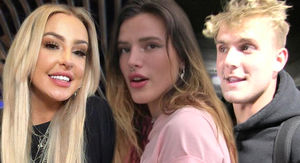 Bella Thorne Cries Over Ex Tana Mongeau Getting Engaged to Jake Paul