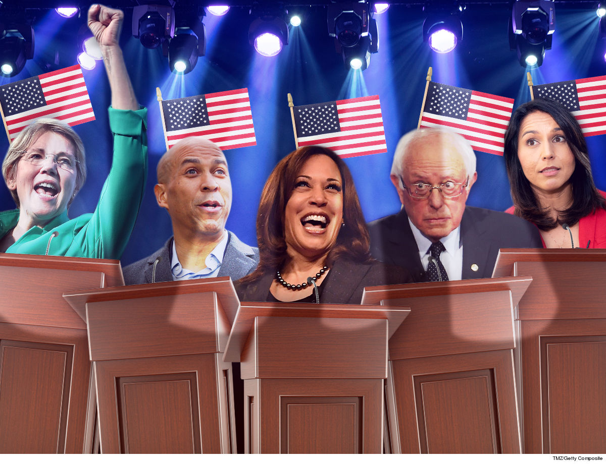 Democratic Debates Diversity Presents Challenges ... Can't Just Use White Light!!!
