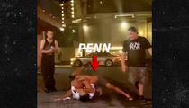 UFC's B.J. Penn Fights Strip Club Bouncer In Street, Cops Called