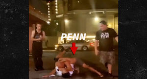UFC's B.J. Penn Strip Club Fight, 'He's Trying to…