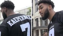 NBA's Karl-Anthony Towns, 'Colin Kaepernick's the Man'