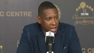 Raptors' Masai Ujiri On Cop-Pushing Incident, 'I Respect Authority'