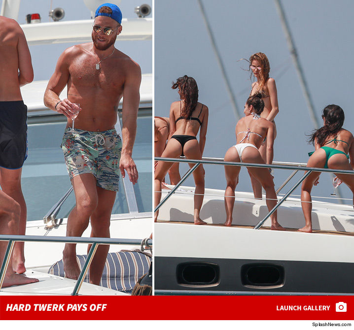 Blake Griffin & Chandler Parsons BOOTY BOAT Twerk Party On Ibiza Yacht!
