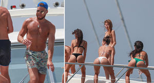Blake Griffin & Chandler Parsons Throw Twerk Party On Ibiza Yacht!