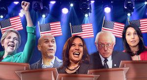 Democratic Debates' Diverse Candidate Crop Presents Lighting Nightmare