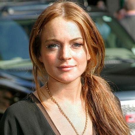 They're Lindsay Lohan's!