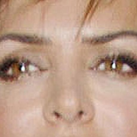 Whose crossed eyes?