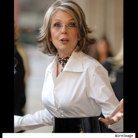 Diane Keaton, often seen looking for antiques, turned an amazing 61 in 2007, not antique looking at all!