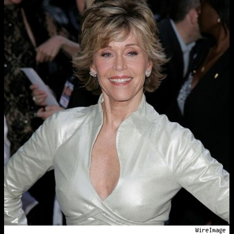 Peacenik Jane Fonda will be 70 in 2007.  Some glamour is forever.