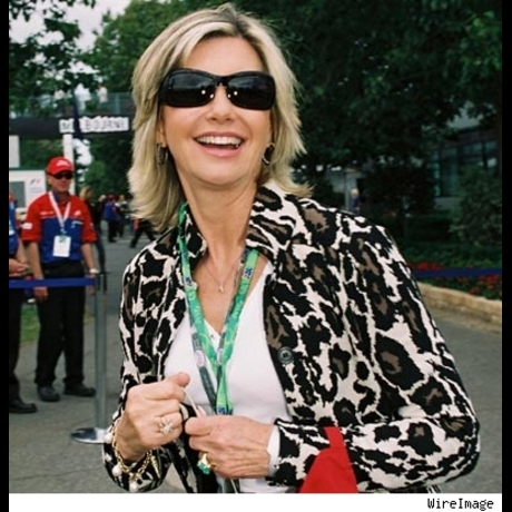 Olivia Newton-John ... greasing the way to being 60 in 2008.  And still luscious.