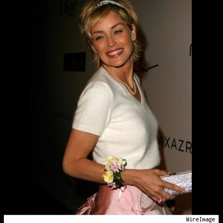 Sharon Stone hits the big 5-0 in 2008 ... and looks great.
