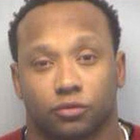 Jamal Anderson was busted and charged with felony possession of cocaine and misdemeanor possession of marijuana.