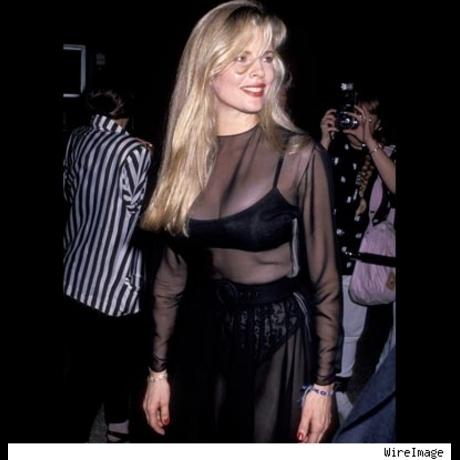 "Kim Basinger at the Los Angeles premiere of ""Batman.""  June 19, 1989."