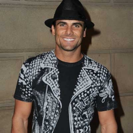 Jeremy Jackson was spotted out looking bright.