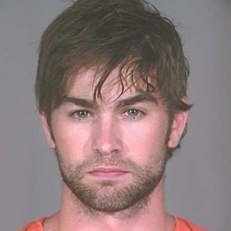 "Chace Crawford from ""Gossip Girl"" was arrested in Plano, Texas for possession of marijuana."
