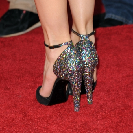 Whose hot heels?