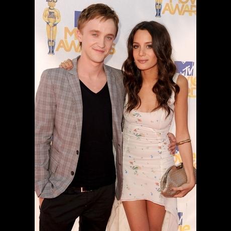 Tom Felton and Jade Gordon