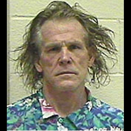 Nick Nolte's classic mug after his suspicion of DUI in 2002.