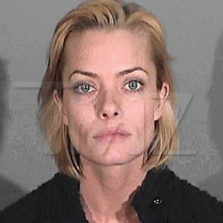 Jaime Pressly was arrested after a traffic stop in Santa Monica and was busted for a DUI.