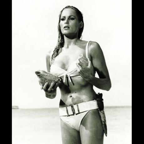 "As Honey Ryder in the 1962 Bond film ""Dr. No,"" Ursula Andress became an international sex symbol."