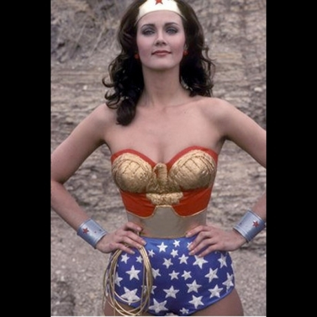 """In the '70s, Lynda Carter became a superhero icon as """"Wonder Woman."""""""