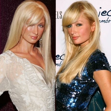 Paris Hilton's glassy, empty-headed stare was easily duplicated in wax.
