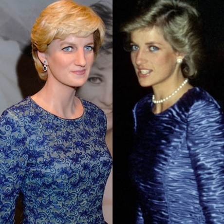 Princess Diana -- like a candle in the wind.