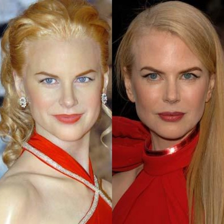 Nicole Kidman's ice queen stance is perfectly frozen in wax.