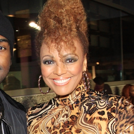 Kim Fields was spotted at an event looking electrifying!
