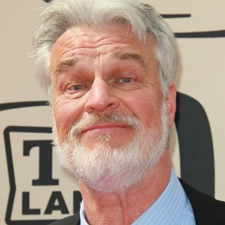Richard Moll was spotted on the red carpet looking fuzzy.