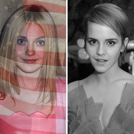 Dakota Fanning was born in the USA! Emma Watson was born in France.